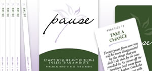 Pause Book and Cards
